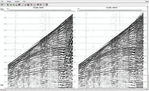 data CDP sebelum di filter (kiri). Sesudah difilter