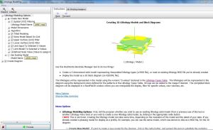 Prosesing pembuatan model litologi
